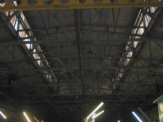 Металлические конструкции покрытия АТЭ