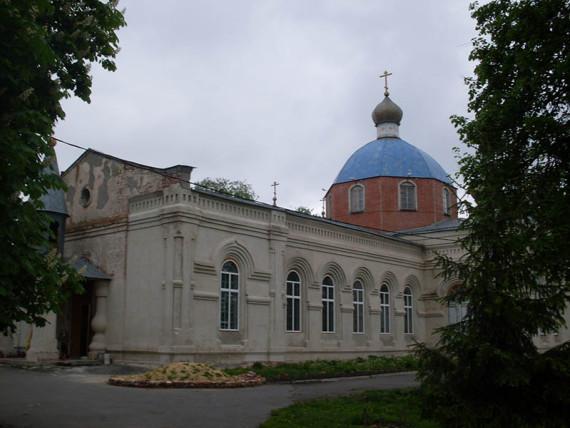 Свято-Никольский храм Горшечное