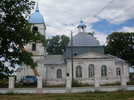Свято-Покровский храм, с. Кунье, Горшеченский р-н